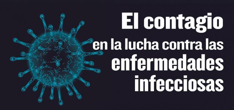 El contagio en la luch contra las enfermedades infecciosas