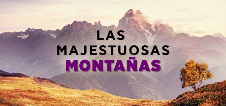 Front slider - Las majestuosas montañas