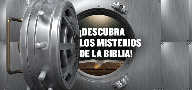 Front slider - Descubra los misterios de la Biblia