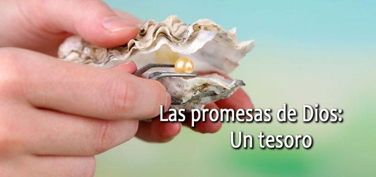 Front slider - Las promesas de Dios: Un tesoro