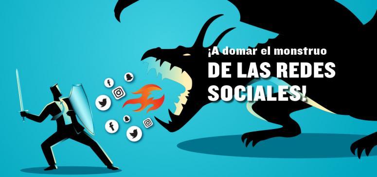 Front slider - ¡A domar el monstruo de las redes sociales!