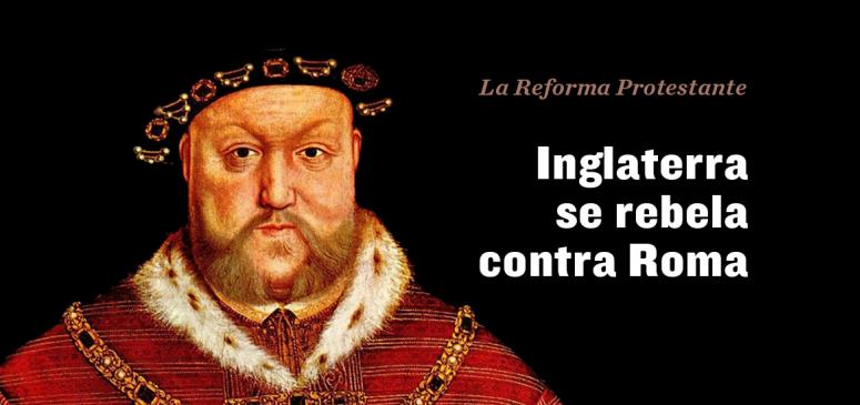 Front slider - Inglaterra se rebela contra Roma